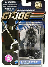"G.I. JOE Renegades Collection_SNAKE EYES 3.75 "" action figure_MIP_Ninja Commando"