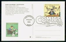 Mayfairstamps US FDC 1995 Rube Goldbers Inventions First Day Card wwf_41563