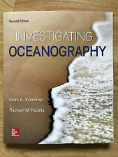 NEW USA EDITION!  Investigating Oceanography 2E Keith Sverdrup; Raphael Kudela
