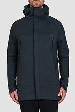 NWT Men NIKE Sportswear Tech Fleece Parka Zip Jacket Coat Green Heather 805142 L