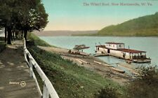 New Martinsville,West Virginia,The Wharf Boat,Wetzel County,c.1909