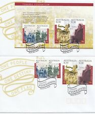 2000 Towards Federation FDC set of 2