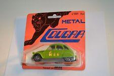 Solido 1301 Cougar Citroen 2cv6 2 CV 6 green 1: 43 mint on card superb