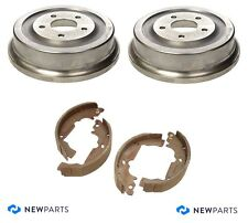 For Saturn Vue Chevy Equinox Rear Brake Drums & Shoes Kit Centric Premium