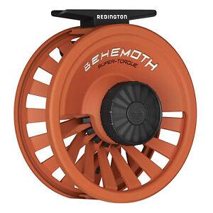 Redington Behemoth 7/8 Spool Heavy-Duty Carbon Fiber Fly Fishing Reel, Orange