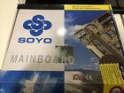 New Condition Soyo SY-5EMA+ V1.1 Motherboard Socket 7