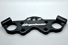 Suzuki 99-2015 Hayabusa Logo Billet lowering triple tree top clamp ROARING TOYZ