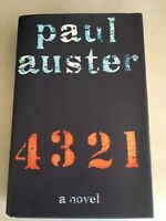 4 3 2 1 by PAUL AUSTER  1st Edition SIGNED hardcover 2017