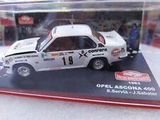 Opel Ascona 400 1/43   rallye Monte Carlo 1983