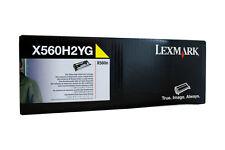 Original Lexmark X560H2YG Tóner Amarillo B