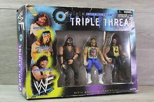 WWE Jakks Mick Foley's - Triple Threat Mankind Dude Love & Cactus Jack - Figures