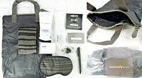 American Airlines Cole Haan Business Class Amenity Kit Grey Handle Tote Shoe Bag