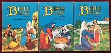 Volumes One Two & Three 1953 1954 The Bible Story Arthur S Maxwell SDA HB Books