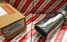 2016-2019 TOYOTA TACOMA CHROME EXHAUST TIP GENUINE OEM PT932-35162 (FAST SHIP)