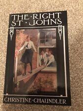 Right St John's by Christine Chaundler (Paperback, 2007)