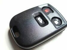 NEW 3 BUTTON REMOTE KEY ALARM FOB CASE for JAGUAR S type