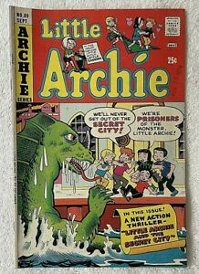 Little Archie Comic Book with Little Sabrina  #89 ~1974