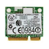 PCI-E BCM94322HM8L DW1510 Mini Dual Band 300M Wireless For DELL P3Z6 E4200 Q2W0