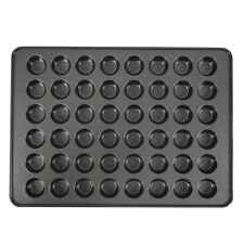 Non-Stick Mega Mini Cupcake, 48-cup Muffin Pan (Black)