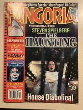 VTG Fangoria Magazine No 184 The Haunting House Diabolical July 1999