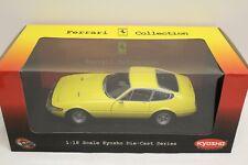 Kyosho Ferrari 365 GTB/4 Daytona yellow OVP 1:18 Limited Edition Club America