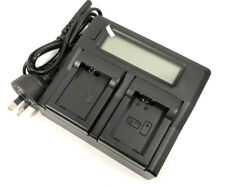 LCD Quick Battery Charger for Sony NP-FW50 BC-VW1 RX10 A7 A7S A7R SLT-A37 A5200