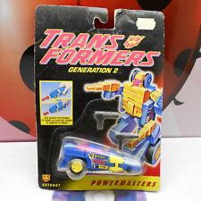 Transformers G2 MEANSTREAK POWERMASTERS Decepticon Robot Action Figure 1994 RARE