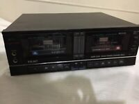 Teac GSW-5200 Stereo Double Cassette Deck - FOR PARTS ONLY