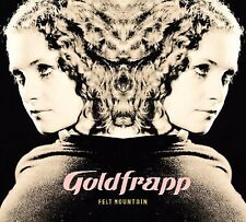 GOLDFRAPP - FELT MOUNTAIN (WHITE VINYL,180G+)  VINYL LP + NEW+