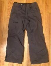 COLUMBIA Omni Tech Shield Youth Size 8 Insulated Ski Snowboard Pants in Gray