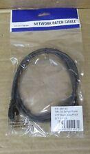 RJ45 Male - RJ45 Male Network Patch Cable 4861-61 1 Metre Snag Proof Black CAT5e