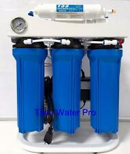 Reverse Osmosis Water Filtration System - Booster Pump - High Flow 200