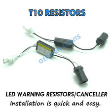 * 2X T10 501 W5W resistencias canbus no error Led Luz Lateral resistencias