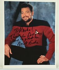 STAR TREK NEXT GEN : JONATHAN FRAKES SIGNED PHOTO AS WILLIAM RIKER