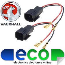 VAUXHALL INSIGNIA 2012 su Porta Auto Altoparlante Adattatore Plug Connettori Filo di piombo