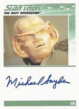 "Complete Star Trek TNG S2 - Michael Snyder ""Qol"" Autograph Card"