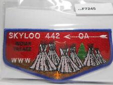 SKYLOO LODGE 442 INDIAN VILLIAGE FLAP F7245