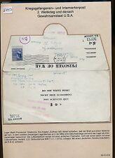 K1457) KGF-post LP-lettera Internment Camp madill Provisional 30.11.43 > Vienna