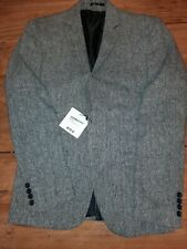 Boohoo Mens Tweed Slim Fit Jacket Medium 38 BNWT