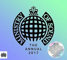 The Annual 2017 (New Release) 3 CD Set (The Ministry Of Sound) Chainsmokers etc