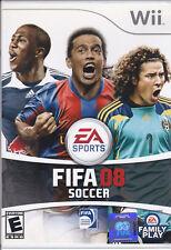 Gioco Wii FIFA 08 SOCCER EA Sports
