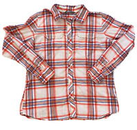 The North Face Shirt Women's Size Large Long Sleeve Button Down Plaid