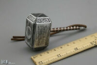 """1/6 Thor hammer Weapon Props Accessories Model F 12"""" Action Figure Body MODel"""