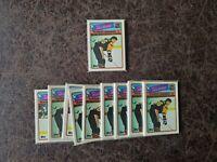 (1) 1988-89 Topps 12-card All Star Hockey Sticker Set - Wayne Gretzky, Lemieux