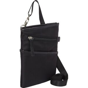WIB Dallas Carrying Case for up-to 7  Tablet, eReader - Black - Twill Polyester