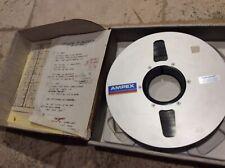 "Dan & Jean - Dennis Dragon SURF PUNKS Recording Session Tape Ampex 456 2"" Reel"