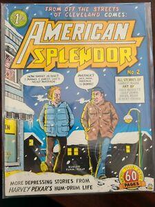 American Splendor #2 - Harvey Pekar - Underground comic