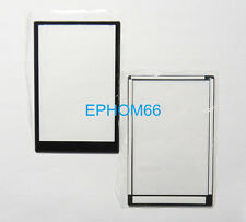 Outer Window Glass LCD Screen Display For Panasonic Lumix DMC-LX3 Repair Part
