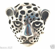 Sterling Silver Jaguar Ring Mexico Vintage Style Molina Taxco Mexican 925