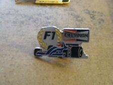 CHAMPION PLUGS BRABHAM RACING CAR PIN BADGE FORMULA 1 F1
